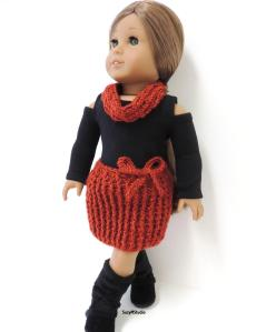 SuzyMStudio Crochet Skirt and Scarf