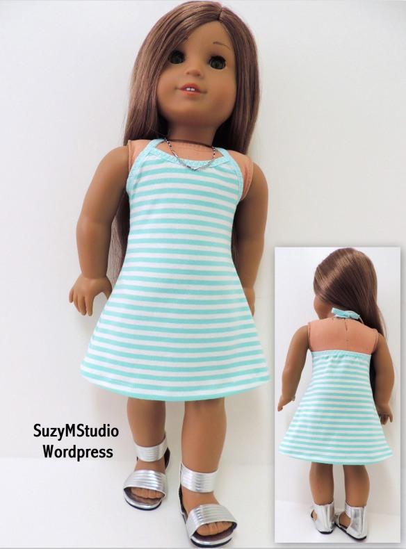 Knit Halter Dress PDF SuzyMStudio