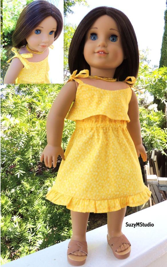 Summer Breeze Tie Shoulder Dress Pattern
