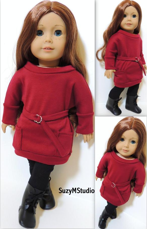 Mini Dress Pullover Pattern by SuzyMStudio