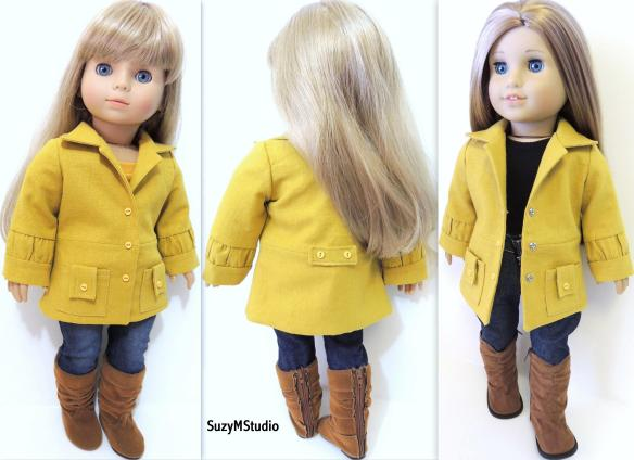 Classy Coat and Jacket PDF Pattern By SuzyMStudio