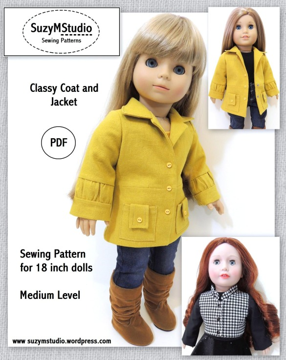 Download Free 18 inch doll clothes patterns to sew Plans DIY ...