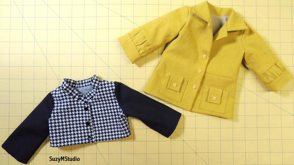 Classy Coat Jacket Sewing Pattern SuzyMStudio