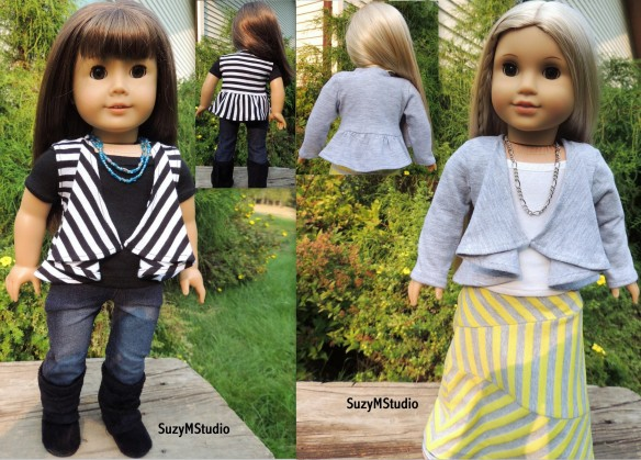 Draped Cardigan and Vest Sewing Pattern SuzyMStudio