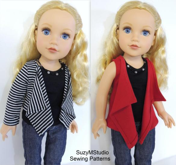 Journey Girl Doll Cascade Pattern SuzyMStudio