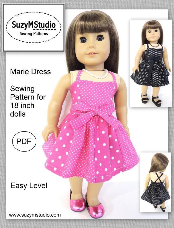 Marie Dress SuzyMStudio Sewing Pattern