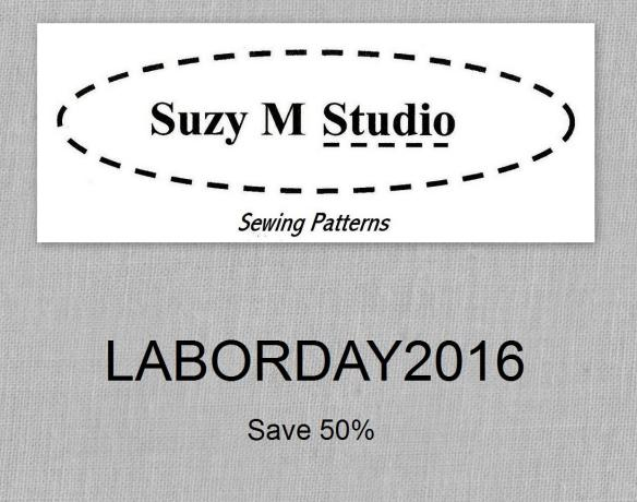 labor day 2016 suzymstudio sewing patterns