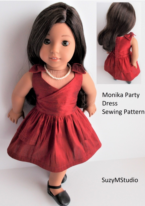 Monica Party Dress Pattern SuzyMStudio