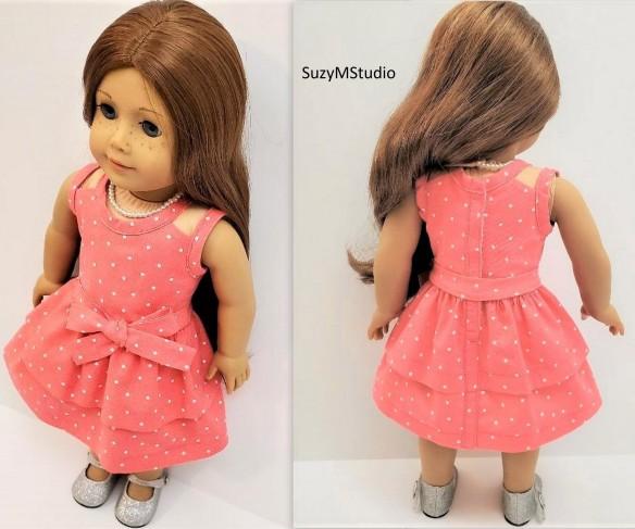 Suzette Dress Sewing pattern SuzyMStudio